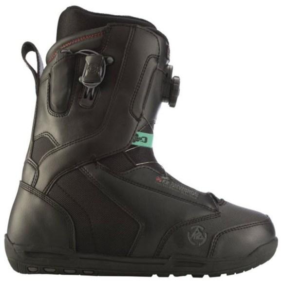 K2 Ryker BOA Mens Snowboard Boots Black 2012