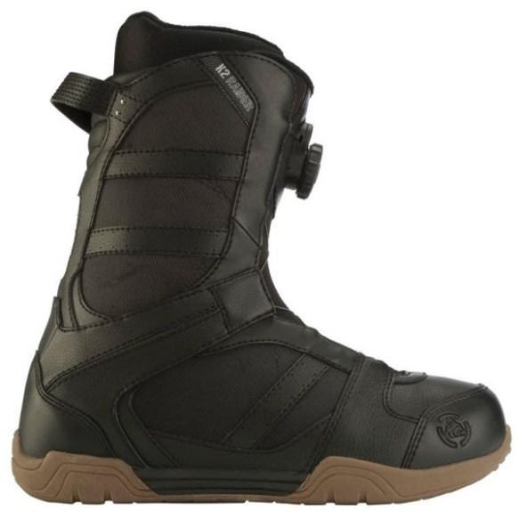 K2 Raider BOA Mens Snowboard Boots Black 2012