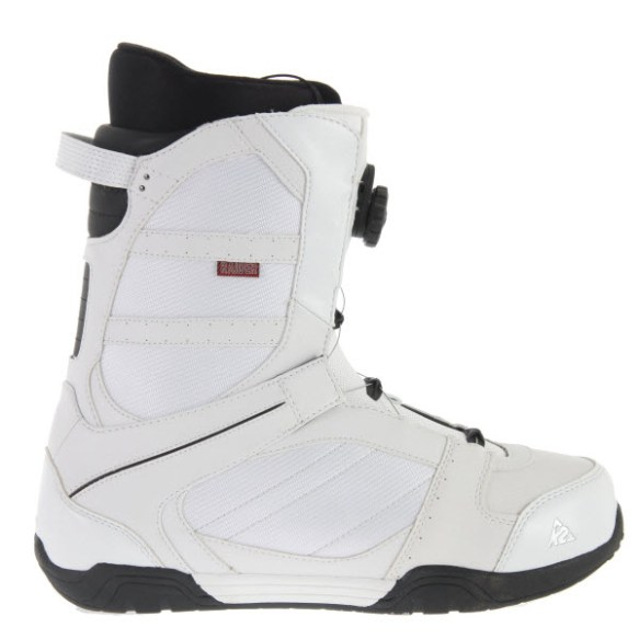 K2 Raider BOA Mens Snowboard Boots New White 2012 UK 8
