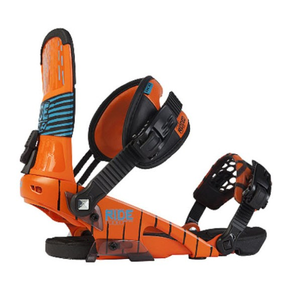 Ride Rodeo Snowboard Freestyle Bindings 2012 in Orange