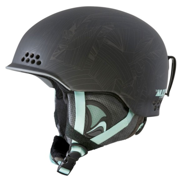 K2 Womens Ally Pro Ski Snowboard Audio Helmet 2014 in Black
