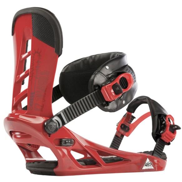 K2 Formula Snowboard Bindings 2013 in Red