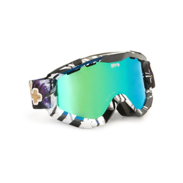 Spy Zed Yes DCP Snowboard Ski Goggles Bronze Green Spectra 2013