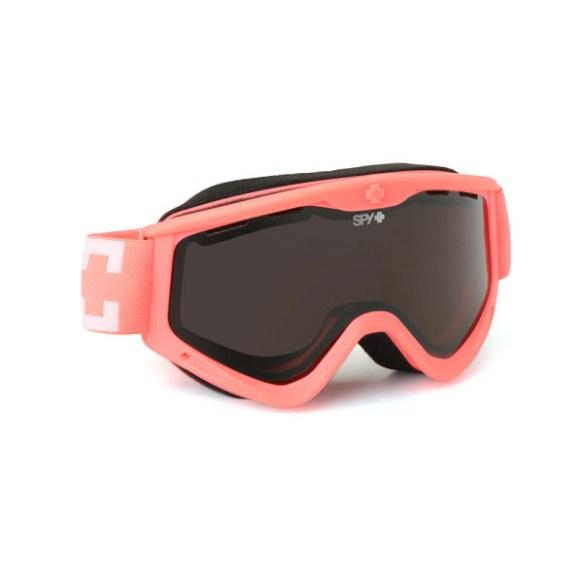 Spy Targa 3 Ultra Melon Snowboard Ski Goggles Bronze Silver Mirror 2013