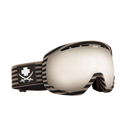 Spy Marshall Scallywag Snowboard Ski Goggles Bronze Silver Mirror 2013