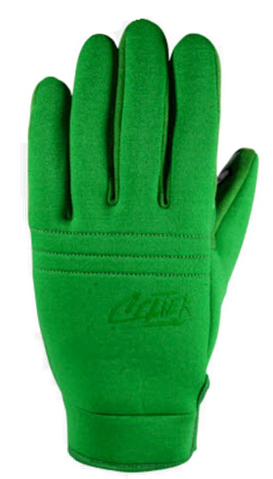 Celtek U Tube Pipe Gloves Snowboard Ski New 2013 Green