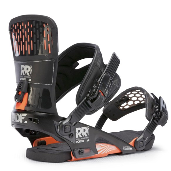 Ride Rodeo Snowboard Bindings 2013 in Black Medium