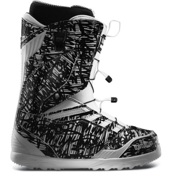 ThirtyTwo Lashed FastTrack Snowboard Boots 2013 in White