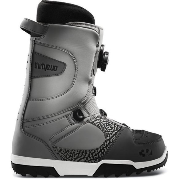 32 ThirtyTwo STW Boa Mens Snowboard Boots 2013 in Grey
