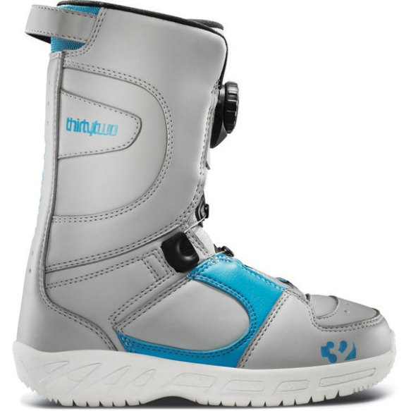 32 ThirtyTwo Boa Kids Snowboard Boots 2013 in Grey