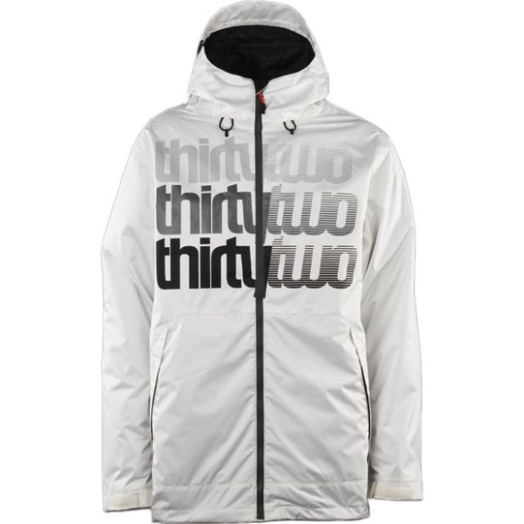 Thirtytwo Shakedown Snowboard Jacket 2013 in Smoke