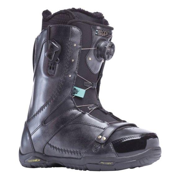 K2 Sapera BOA 2014 Sample Womens Snowboard Boots New Black Uk 5.5