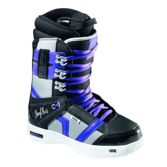 Vans Hi Standard Womens Snowboard Boots 2011 in Black Cheryl