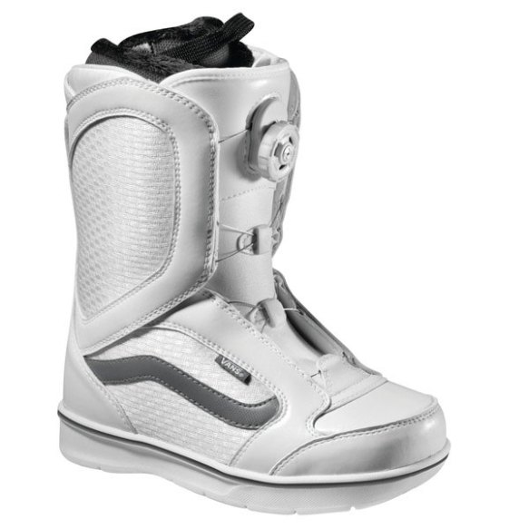 Vans Encore BOA Womens Snowboard Boots 2013 in White Grey