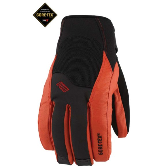 Pow Gloves Mega GTX Gloves New 2013 in Red