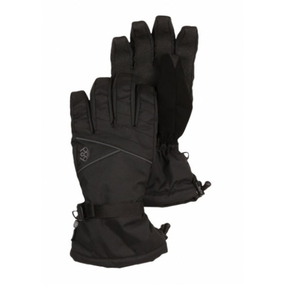 686 Mens Thermo Insulated Gloves Snowboard Ski Black 2014 Various Sizes