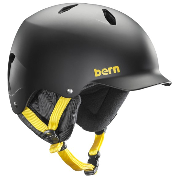 Bern Bandito EPS Junior snowboard ski skate Helmet 2014 in Matte Black
