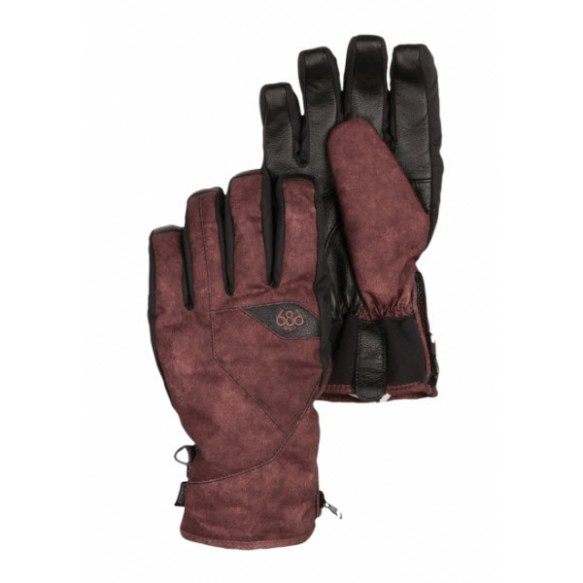 686 M-68 Insulated Mens Glove Dark Rust 2014 Sample Large
