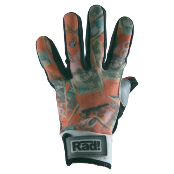 Radical Preen Up Pipe Gloves 2014 Red