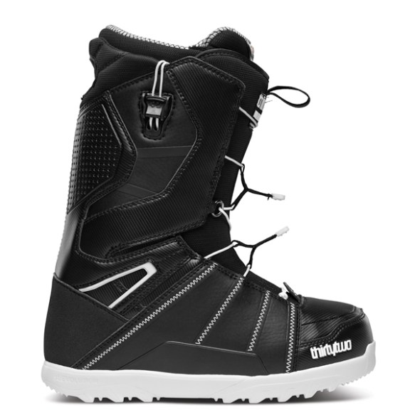 ThirtyTwo Mens Lashed FastTrack Snowboard Boots 2014 in Black White