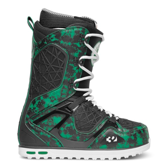 Thirtytwo TM-TWO Grenier Snowboard Boots 2014 in Green Black White