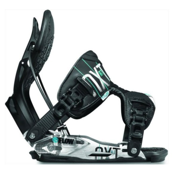 Flow NXT AT Snowboard Binding 2012 in Black size Medium