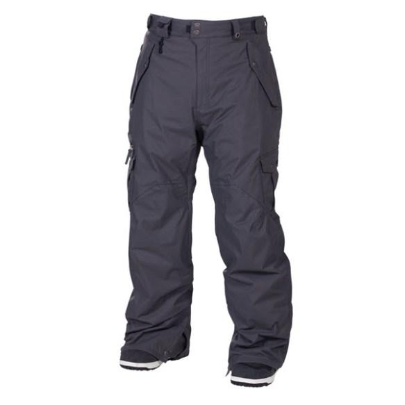 686 Mens Smarty Original Cargo Snowboard Pants Gunmetal Texture 2014