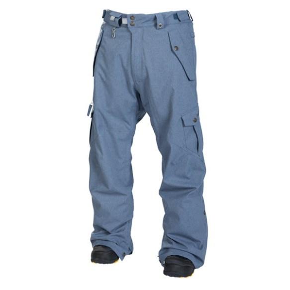 686 Mens Smarty Original Cargo Snowboard Pants InkTexture 2014