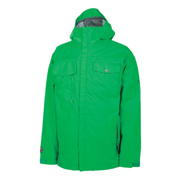 686 Smarty Command Mens Snowboard Ski Jacket Green 2014 Various Sizes