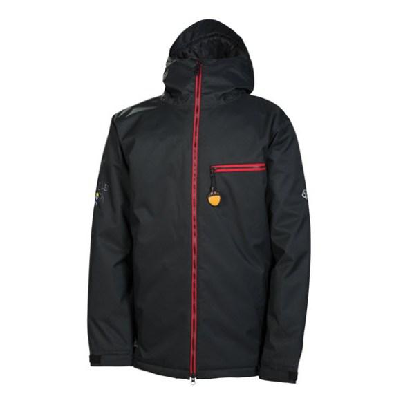 686 Snaggledad Snowboard Jacket Black 2014