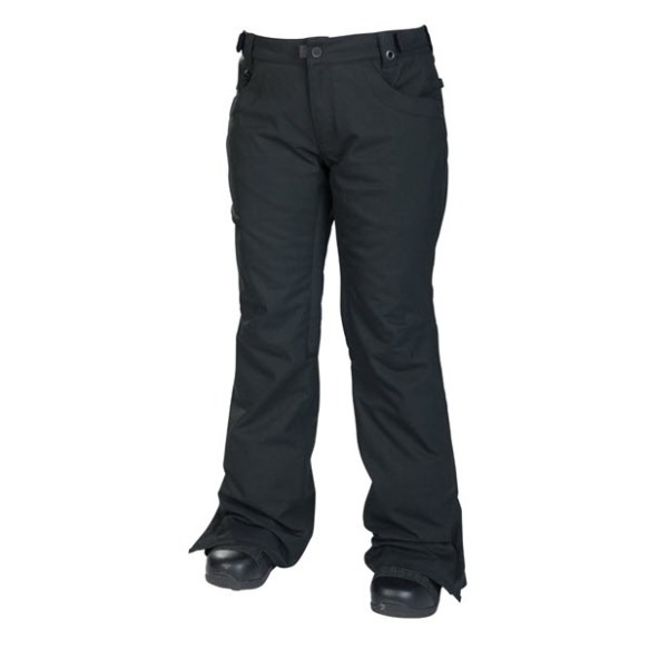 686 Mannual Patron Insulated Womens Snowboard Pants Black Texture 2014