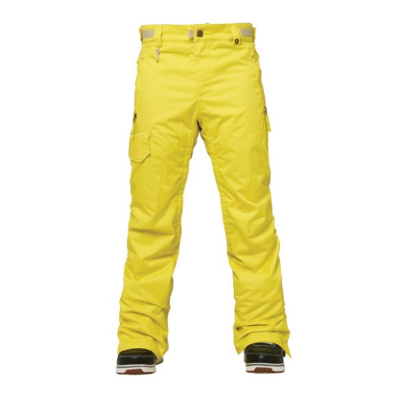 686 Authentic Quest Mens Snowboard Pants Celery 2015
