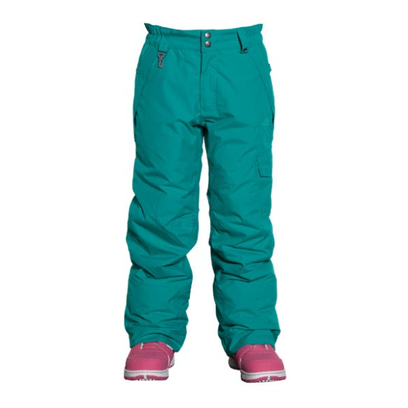 686 Authentic Misty Girls Snowboard Pants Pool Kids Youth Medium Sample 2015