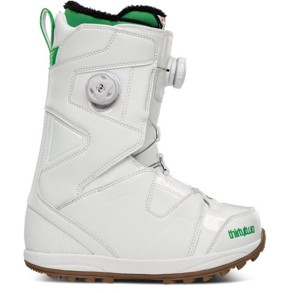 Thirtytwo 32 Womens Due BOA Binary Snowboard Boots New Sample 2014 White UK 4.5