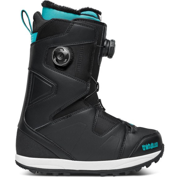Thirtytwo 32 Womens Binary Duel BOA Snowboard Boots New Sample Black UK 4.5