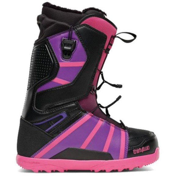 Thirtytwo 32 Womens Lashed FT Fast Track Snowboard Boots New Sample Black Pink UK 4.5