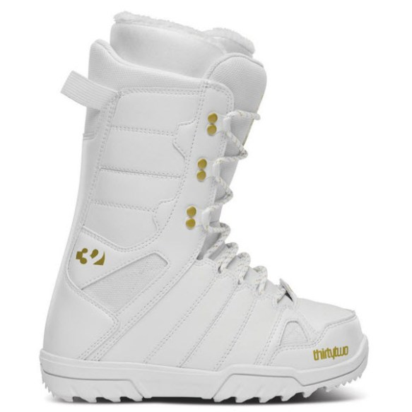 Thirtytwo 32 Womens Exit Snowboard Boots Lace Up New Sample White 2014 UK 4.5