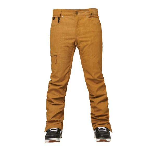 686 Parklan Parcel Mens Snowboard Pants 2015 Duck Scratch Pigment