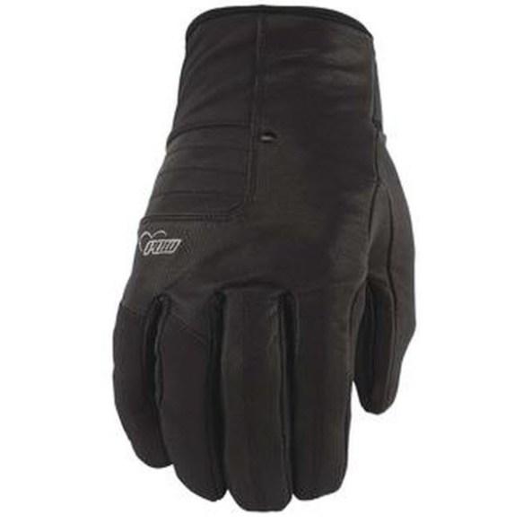 Pow Gloves Womens Chase Snowboard Goatskin Gloves New 2013 Black Medium