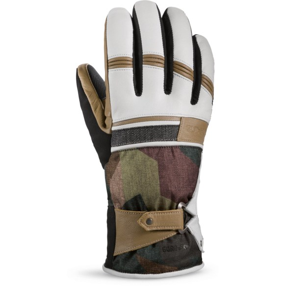 Dakine Targa Womens Gore-Tex Gloves Patchwork Denim 2015 Medium