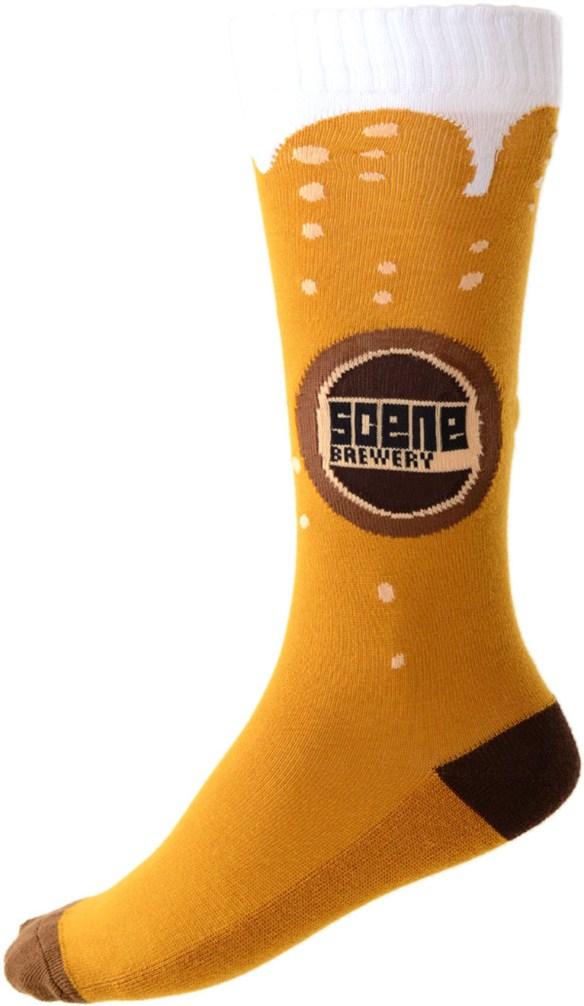 Scene Socks Fully Cushioned Snowboard Socks 2015