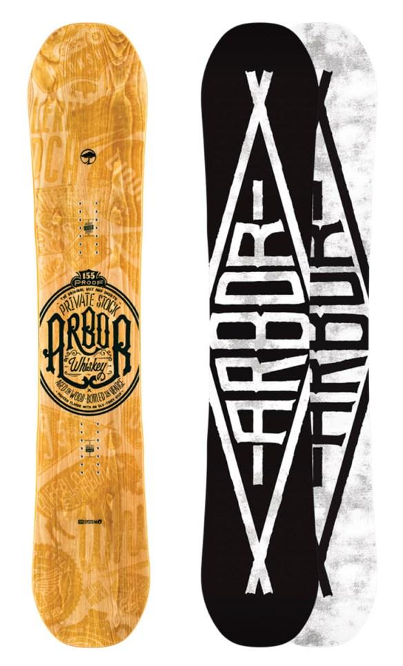 Arbor Whiskey Snowboard 2015