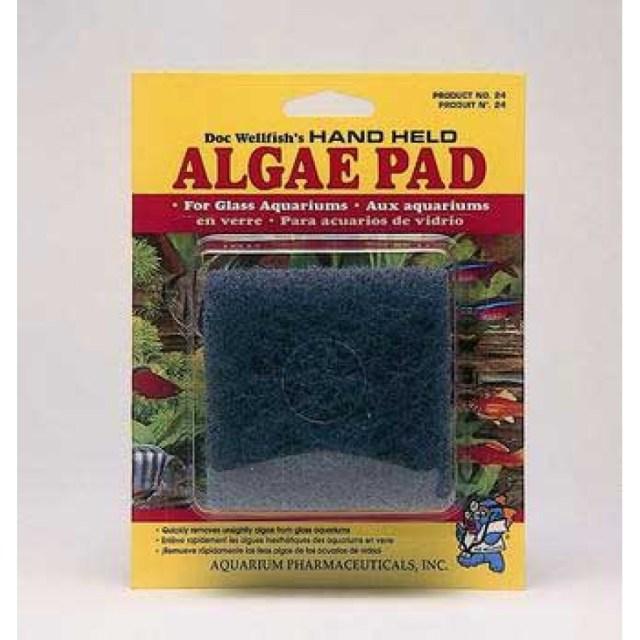 API Aquarium Fish Tank Algae Cleaner Pad Fresh Salt Water | eBay
