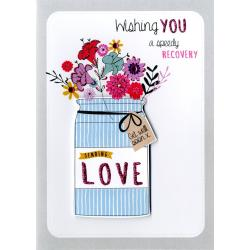 Chic Speedy Recovery Get Well Greeting Card Speedy Recovery Get Well Greeting Card Cards Love Kates Wishing You A Speedy Recovery Wishing You A Speedy Recovery Get Well Soon