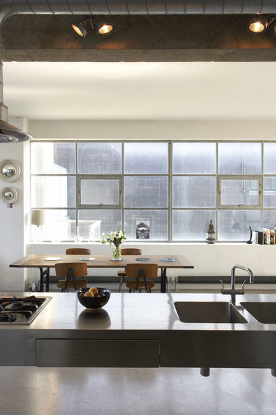 Estilo industrial loft moderno en londres decoraci n de for Decoracion estilo loft