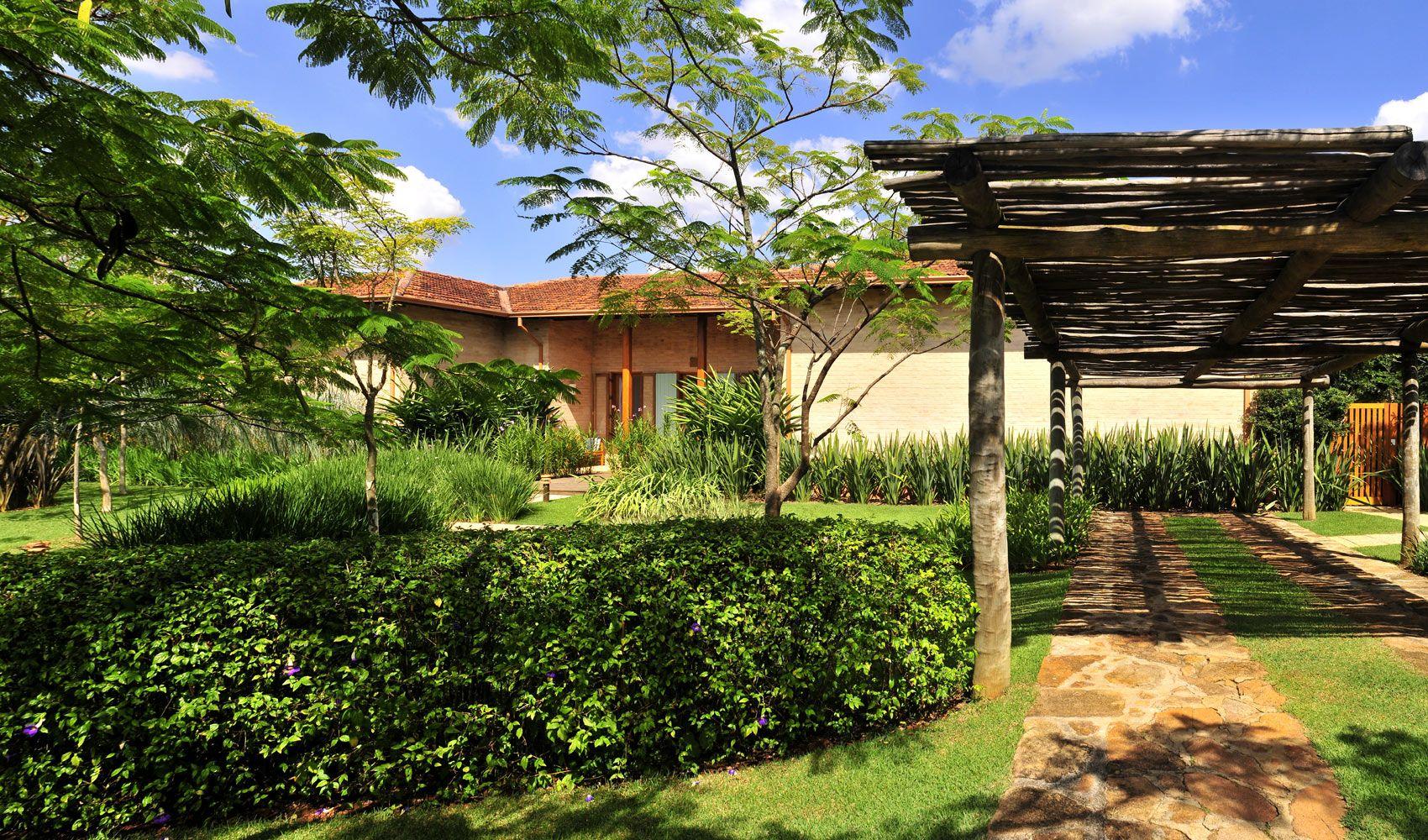Diseño de exteriores jardines modernos y tropicales