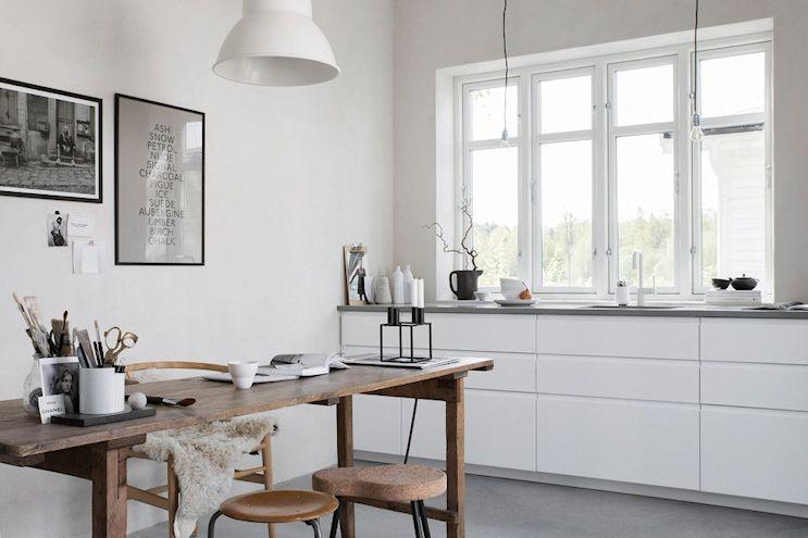 Decoración de casas pequeñas: una casita de 25 metros² con diseño nórdico