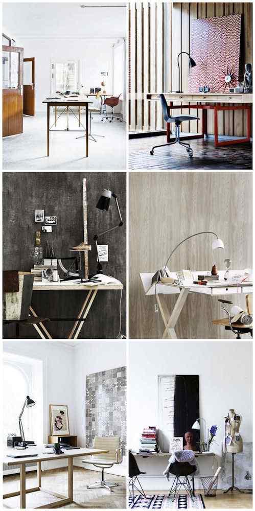 Espacios de trabajo con estilo y dise o escritorios modernos - Disenos de escritorios ...