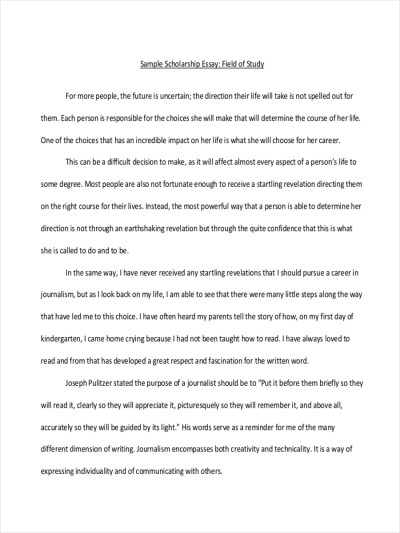 7+ Short Essay Examples & Samples - PDF | Examples