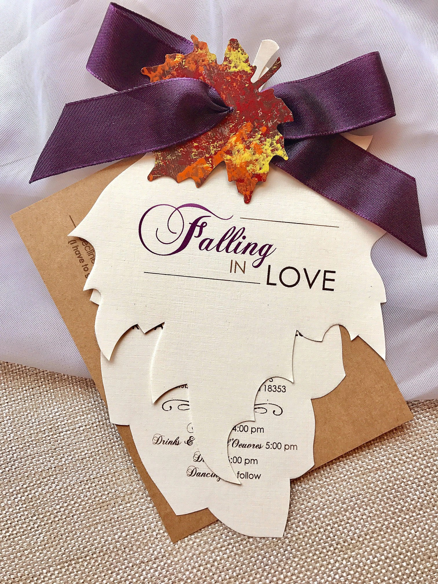 Fullsize Of Fall Wedding Invitations